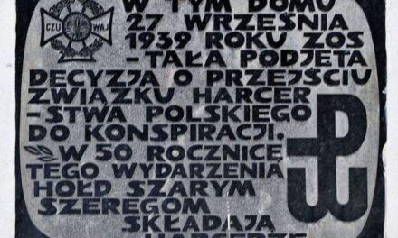 List Ministra Edukacji Narodowej wrocznicę powstania Szarych Szeregów