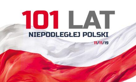101 LAT NIEPODLEGŁEJ POLSKI!
