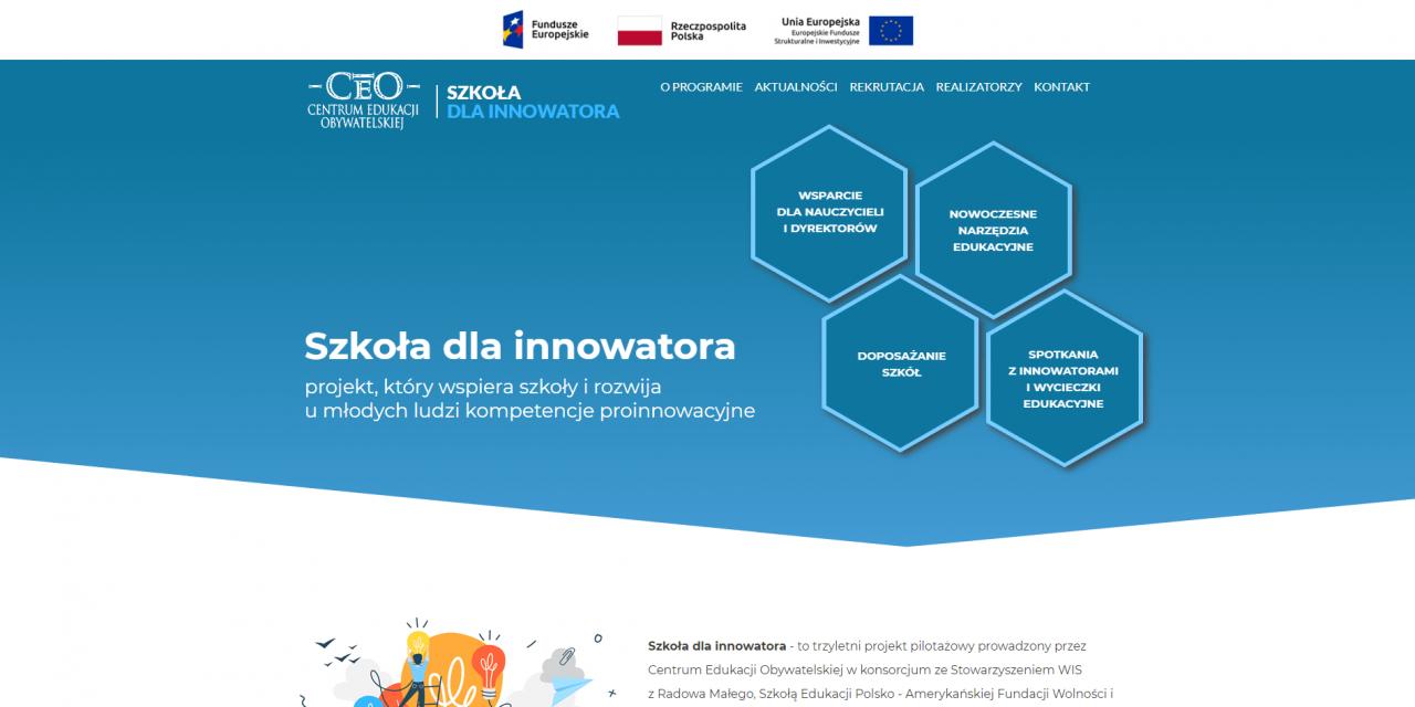 Szkoła dla innowatora