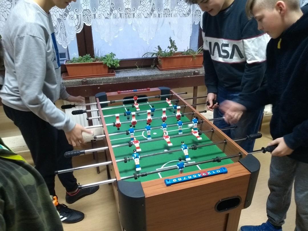 Piłkarzyki SP1 Rajcza