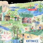 #DobreWakacje. NIEMAPA. Lasy Górnego Śląska
