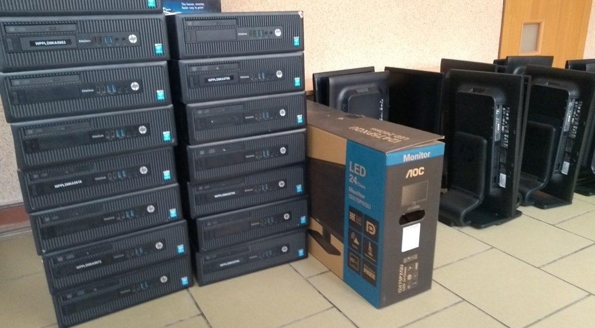 Pozyskaliśmy komputery dla szkoły!