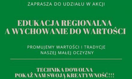 Akcja! Edukacja regionalna, wychowanie dowartości