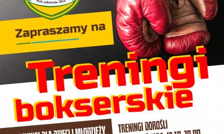 Zajęcia bokserskie dla dzieci idorosłych Gminy Rajcza